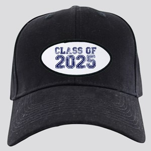 Class of 2025 Black Cap with Patch