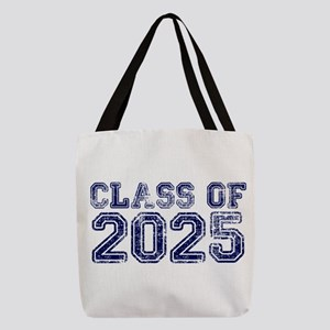 Class of 2025 Polyester Tote Bag