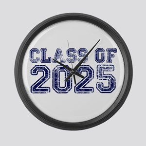 Class of 2025 Large Wall Clock
