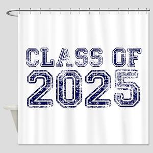 Class of 2025 Shower Curtain
