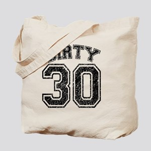 Dirty 30 Speckled Tote Bag