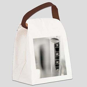Laboratory glassware Canvas Lunch Bag