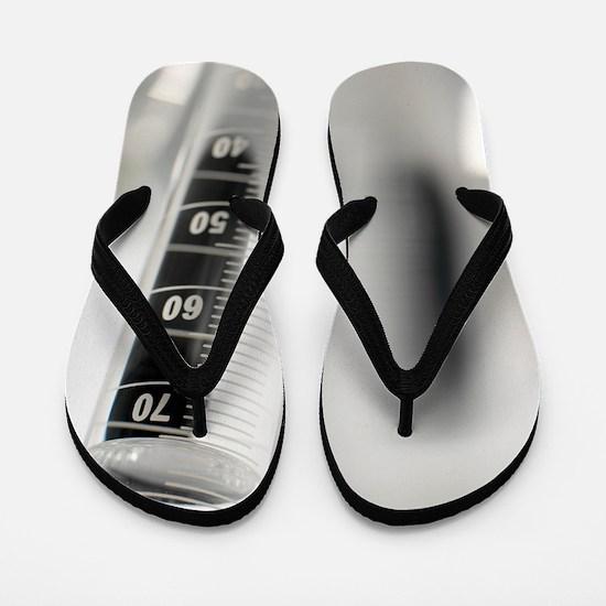 Laboratory glassware Flip Flops