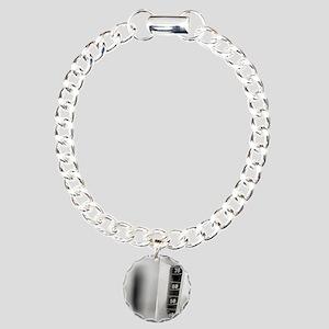 Laboratory glassware Charm Bracelet, One Charm