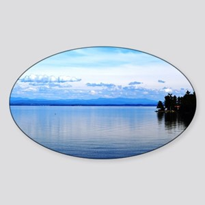 Lake Champlain 8 Sticker (Oval)