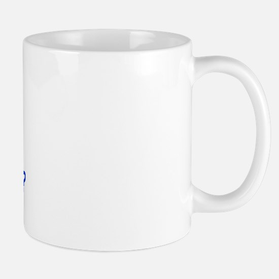 Calc Eq Blue  Mug