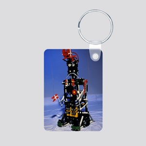 Lego humanoid robot known  Aluminum Photo Keychain