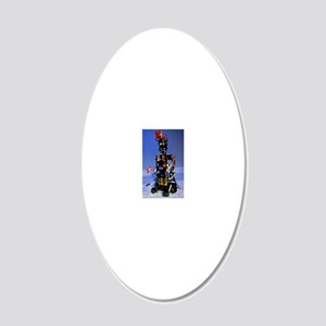 Lego humanoid robot known as 20x12 Oval Wall Decal