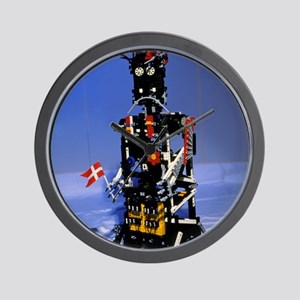 Lego humanoid robot known as Elektra Wall Clock