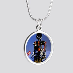 Lego humanoid robot known as Silver Round Necklace