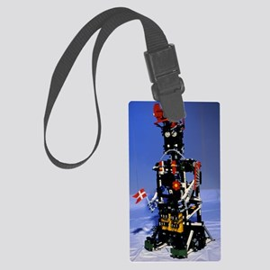 Lego humanoid robot known as Ele Large Luggage Tag