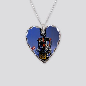 Lego humanoid robot known as  Necklace Heart Charm