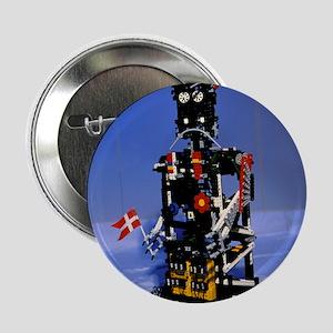 """Lego humanoid robot known as Elektra 2.25"""" Button"""