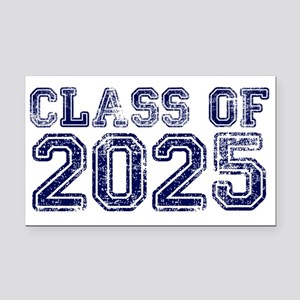 Class of 2025 Rectangle Car Magnet