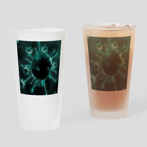 Virus, conceptual image Drinking Glass