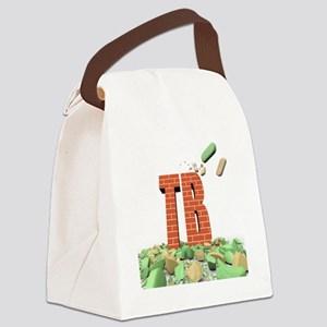 Tuberculosis resistance to some d Canvas Lunch Bag