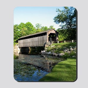 Fallasburg Covered Bridge Mousepad