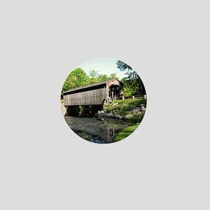 Fallasburg Covered Bridge Mini Button