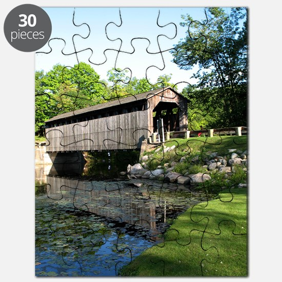 Fallasburg Covered Bridge Puzzle
