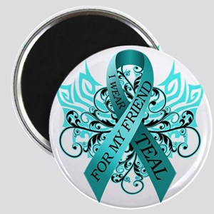 I Wear Teal for my Friend Magnet