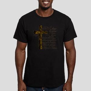 Plan of God Jeremiah 2 Men's Fitted T-Shirt (dark)