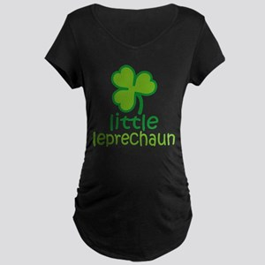 Little Leprechaun Maternity T-Shirt