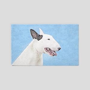 Bull Terrier 3'x5' Area Rug
