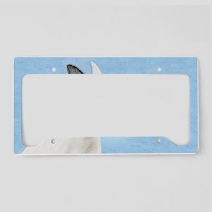 Bull Terrier License Plate Holder