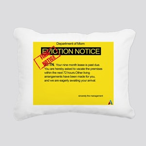Overdue baby Eviction Rectangular Canvas Pillow
