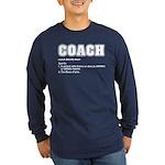 Coach Definition Long Sleeve Dark T-Shirt