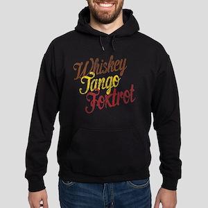 Whiskey Tango Foxtrot Vintage Hoodie (dark)