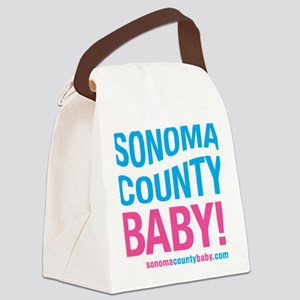 Sonoma County Baby Canvas Lunch Bag