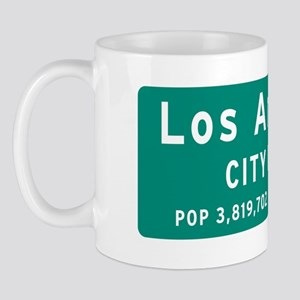 Los Angeles City Limit Mug