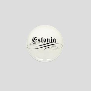 Estonia Gothic Mini Button