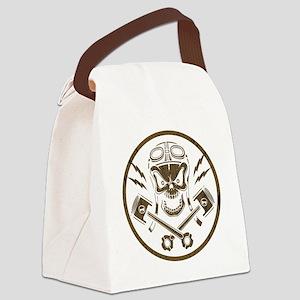 piston-pistoff2-gold-T Canvas Lunch Bag