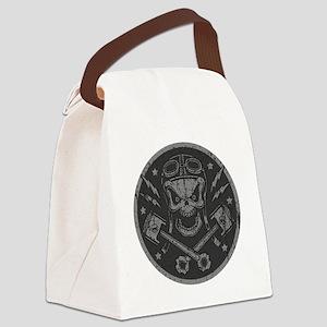 piston-pistoff2-silv-T Canvas Lunch Bag