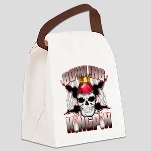 Bowling Kingpin Canvas Lunch Bag