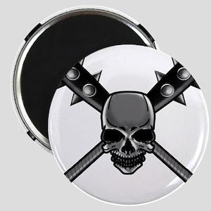SkullCrossbats copy Magnet
