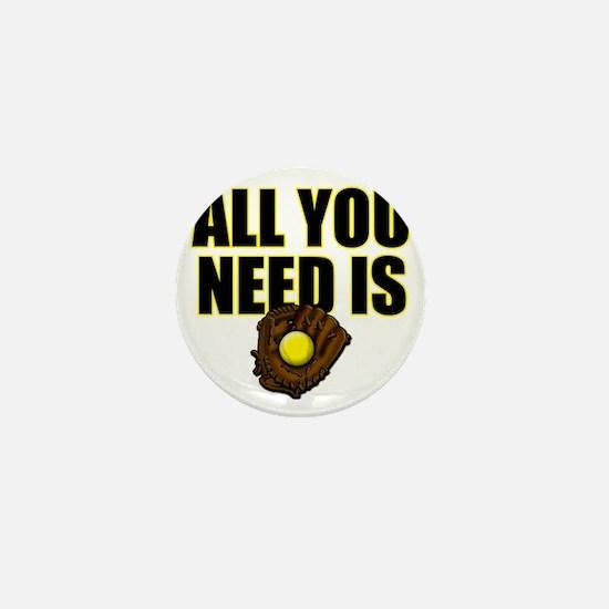 AllYouNeedisGlove copy Mini Button