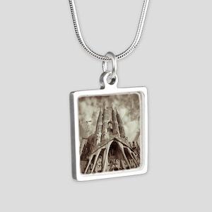 117150108 Silver Square Necklace