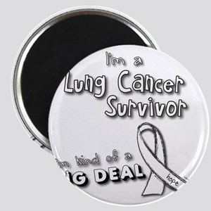 Lung Cancer Survivors ARE a big deal! Magnet
