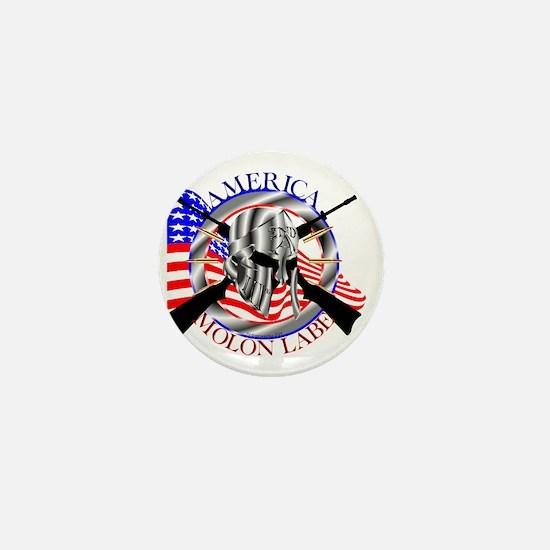 Molon Labe America 2nd Amendment Mini Button