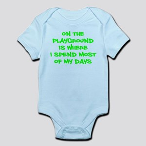 on the playground Body Suit