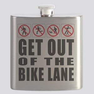 Get out of the bike lane Flask
