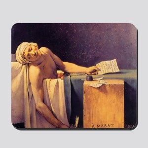Jacques-Louis David Death Of Marat Mousepad