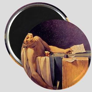 Jacques-Louis David Death Of Marat Magnet