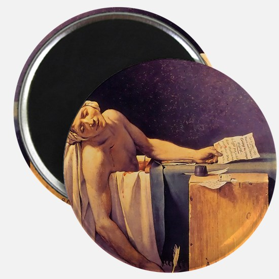 Jacques-Louis David Death Of Marat Magnet