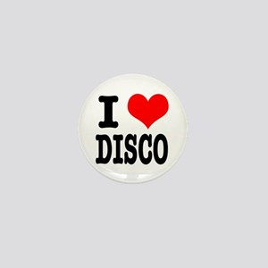 I Heart (Love) Disco Mini Button
