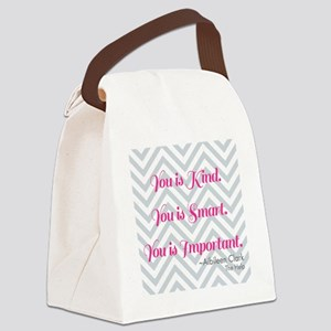 Aibileen Clark Quote Canvas Lunch Bag