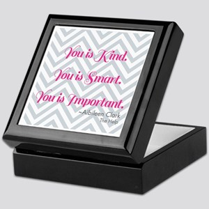 Aibileen Clark Quote Keepsake Box